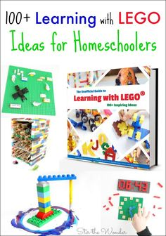 Homeschoolers love the fun, hands-on activities found in The Unofficial Guide to Learning with LEGO! It is a wonderful resource for students of all ages!