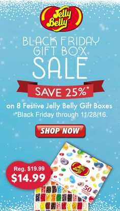 Bring even more festive flair to your holiday celebration with Christmas candy and jelly beans from the Jelly Belly Candy Company! Bulk candy available. Holiday Candy, Christmas Candy, Holiday Fun, Christmas Diy, Festive, Jelly Belly, Candy Gifts, Gift Boxes, Cyber Monday