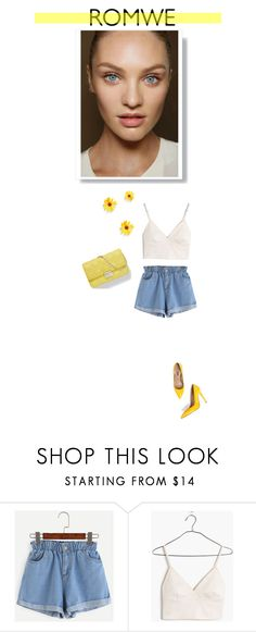 """""""Y E L L O W"""" by byesra ❤ liked on Polyvore featuring Madewell"""