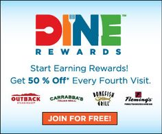 50% Off At Outback, Carrabba's, Bonefish, and Flemings!! | My Pantry Partners