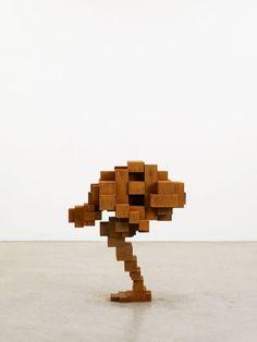Remarkable Geometric Human Figures by Antony Gormley - My Modern Met
