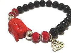 Goodluck Buddha armband. Maat: 18 cm, liever een andere maat, geen probleem, geef tijdens het afrekenproces de goede maat door