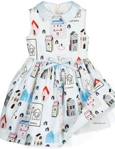 ALALOSHA: VOGUE ENFANTS: Oh, esos vestidos ... nueva colección AW15 bastante de los colors..Meet Simonetta durante damitas