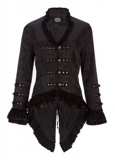 Elegant Black Victorian Jacket with Lace Embellishments - Size XX-Large  https://www.amazon.com/gp/product/B00H3JSZUS/ref=as_li_qf_sp_asin_il_tl?ie=UTF8&tag=rockaclothsto_gothic-20&camp=1789&creative=9325&linkCode=as2&creativeASIN=B00H3JSZUS&linkId=2a752982b3f65183bac505c546fb0faf