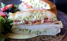 Costco Turkey Provolone Pesto Sandwich Melt