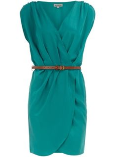 vogue 8631 wrap dress in this color.