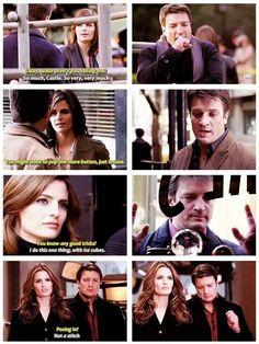 Castle 2009, Castle Abc, Castle Series, Castle Tv Shows, How To Be Romantic, Beckett Quotes, Castle Quotes, Castle Beckett, American Series