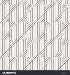 Abstract seamless pattern. Geometric simple regular background. Vector illustration with striped linear grid