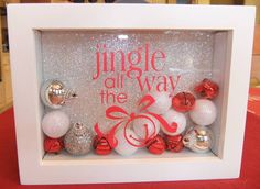Jingle All the Way by Tisha Copeland....using SU decor elements (vinyl transfers)... or in my case, making them on your Cricut.  Too cute!