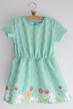 Lily en Woody: De waterpret jurk LMV Liz (verlengd  en zonder haaksluiting)