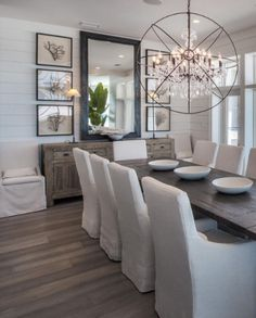 Best Dining Room Wall Decor Ideas 2018 (Modern & Contemporary Pictures) never tire of black and white Farmhouse Dining Room Decor Ideas Dining Room Wall Decor, Dining Room Design, Dining Room Mirrors, Dining Room Sideboard, Dining Room Ideas On A Budget, Dining Room Chair Covers, Dining Room Decorating, Dinning Room Furniture Ideas, Buffet Table Ideas Decor Dining Rooms