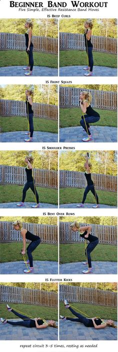 Easy Yoga Workout - Band Exercises for women. You dont have to lift heavy dumbbells or a medicine… Get your sexiest body ever without,crunches,cardio,or ever setting foot in a gym