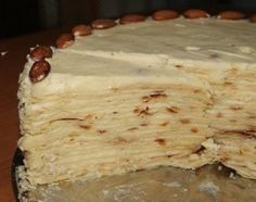 "Torta ""Napoleone"" in padella...........Торт ""Наполеон"" (на сковороде)."
