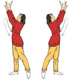8. Girar el cuerpo para contemplar la luna Fortalece los riñones y estimula el hígado Acentúa la confianza, la bondad y la asertividad