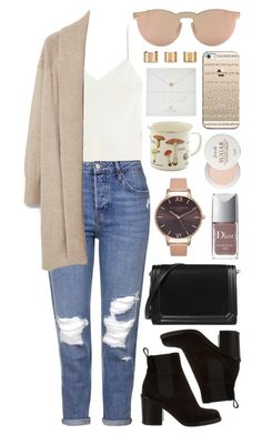 Untitled #620 by clary94 on Polyvore featuring polyvore MANGO Calvin Klein Collection Topshop Givenchy CHARLES & KEITH Maison Margiela Dogeared Illesteva Casetify Fresh Christian Dior Olivia Burton fashion style clothing