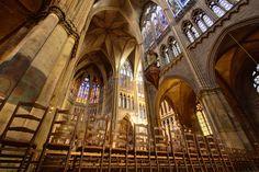 La #cathédrale de #Metz est l'une des plus méconnues et pourant l'une des plus fabuleuses de #France. #Lorraine