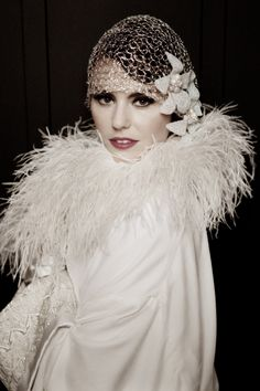 Twenties Wedding Coat from Lindsay Fleming