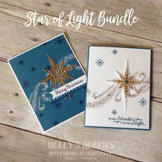 Star of Light Bundle by HollysHobbies - Cards and Paper Crafts at Splitcoaststampers
