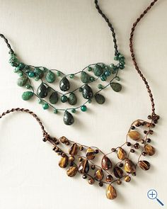 Chan Luu Long Semiprecious Stone Necklace
