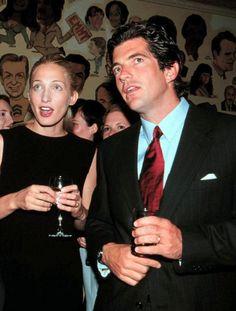 Carolyn Bessette and John Kennedy, Jr.