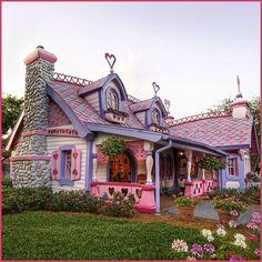 pink heart cottage