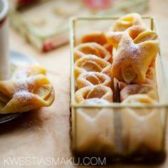 Rożki z jabłkami z ciasta twarogowego | Kwestia Smaku