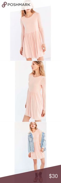 NWT Urban Outfitters Super Soft Babydoll Dress New with tags. Very soft! Also available in lavender size XS. Urban Outfitters Dresses