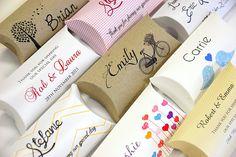 Designer Pillow Bomboniere Boxes