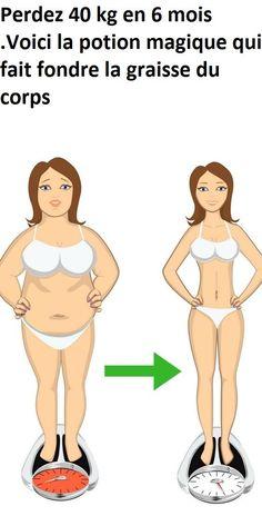 Perdez 40 kg en 6 mois .voici la potion magique - #minceur #perdre #perdredu #perdredupoids #poids