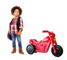 Coolest Kid around with her awesome Piki Piki bike! #RideOn