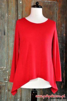 papavero.pl shirt w/ asymmetric bottom; sleeves optional site has many free patterns