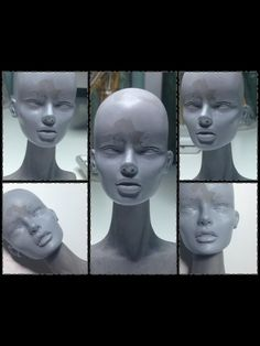 Sculpting the face