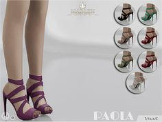 MJ95's Madlen Paola Shoes – Sims 4 Updates -♦- Sims 4 Finds & Sims 4 Must Haves -♦- Free Sims 4 Downloads