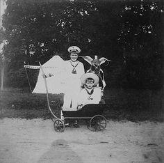"Princes Feoodor and Rostislav Alexandrovich Romanov of Russia,the  sons of Grand Duchess Xenia Alexandrovna Romanova of Russia and Grand Duke Alexander Mikhailovich Romanov of Russia. ""AL"""