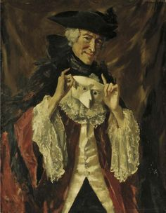 The Mask (Harry Melville) by Augustus John