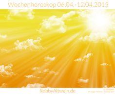 Wochenhoroskop 06.04.-12.04.2015- Robby Altwein