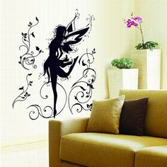 Home Decoration Simple Cartoon Decorative Wall Stickers  #wallstickers #decorate #decals #lovely #cartoon