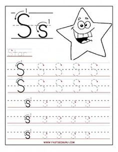 Free Printable letter S tracing worksheets for preschool. Free connect the dots learning upper and lowercase letters worksheets for kids Preschool Writing, Preschool Letters, Letter Activities, Free Preschool, Preschool Printables, Preschool Learning, Kindergarten Worksheets, Letter Tracing Worksheets, Tracing Letters