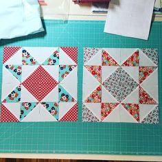 Half square triangle quilt blocks | Quilt Blocks and ...
