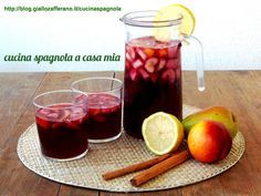 SANGRIA, LA FRESCA BEVANDA DELL'ESTATE SPAGNOLA: http://blog.giallozafferano.it/cucinaspagnola/sangria/