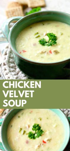 VELVET SOUP Chicken Velvet Soup, you definitely need to make and taste this delicious treat, ENJOY!Chicken Velvet Soup, you definitely need to make and taste this delicious treat, ENJOY! Soup Appetizers, Appetizer Recipes, Soup Recipes, Chicken Recipes, Dinner Recipes, Easter Recipes, Sunday Recipes, Family Recipes, Ree Drummond