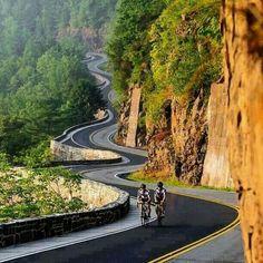 Fun. Cycling or driving.