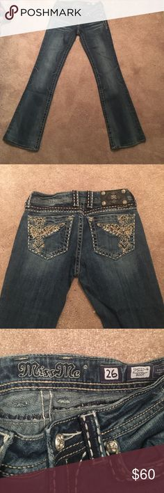 Miss Me Bootcut Jeans Worn about twice- in great condition Miss Me Jeans Boot Cut