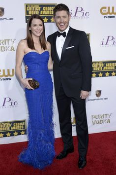 Danneel Ackles and Jensen Ackles – Critics' Choice Movie Awards #2014