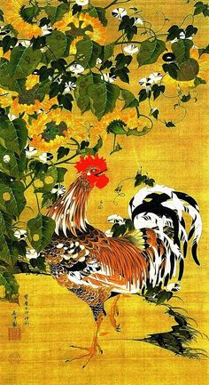 Ito Jakuchu (Япония)