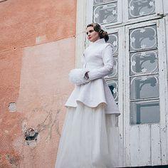 Manteau de mariée | Manteau chaud élégante mariée feutrée | Veste de mariage blanc | Manteau de mariage | Manteau en laine blanc | Mariage d'automne | mariage blanc
