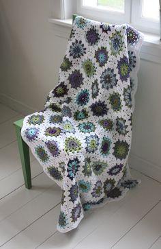 granny square colour inspiration images - Google Search
