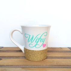 Personalized Coffee cup // Glitter Dipped Coffee Mug // Stoneware Coffee Mug // Personalized Coffee Mug by TwinkleTwinkleLilJar on Etsy https://www.etsy.com/listing/198979858/personalized-coffee-cup-glitter-dipped