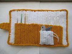 Ravelry: All In One Crochet Hook Case pattern by CrochetDreamz