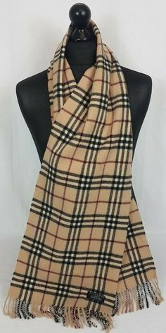 e9ac247a109e3 This Burberry scarf is in an excellent condition no holes no tears
